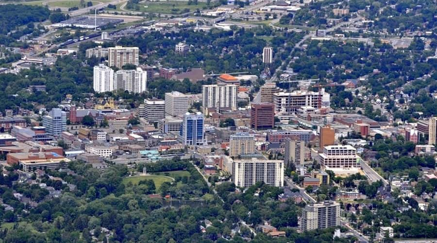 Kitchener city canada
